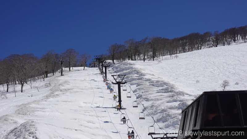 月山スキー場 リフト