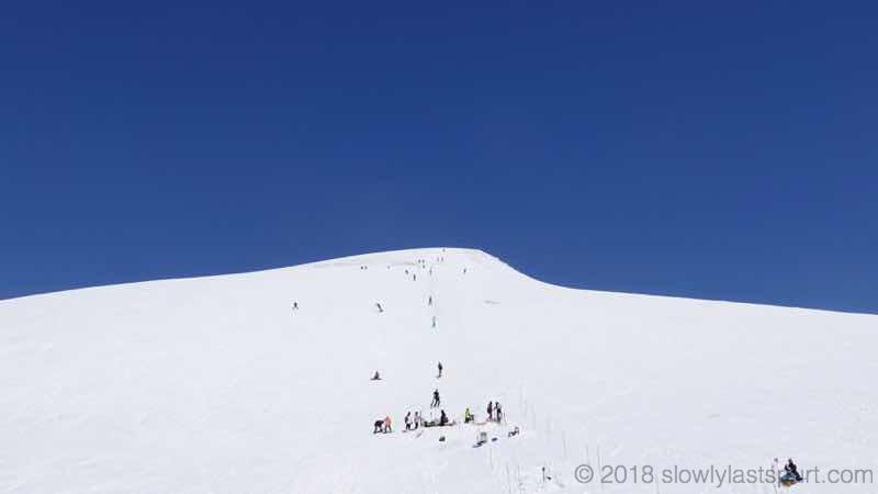 月山スキー場 姥ヶ岳方面