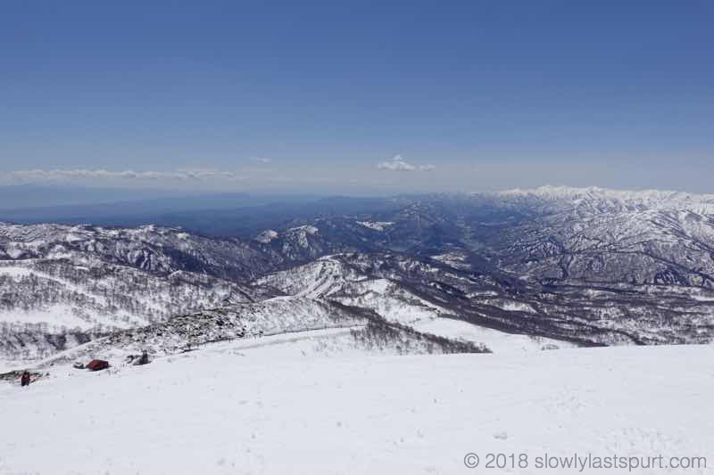 月山スキー場 大斜面コース