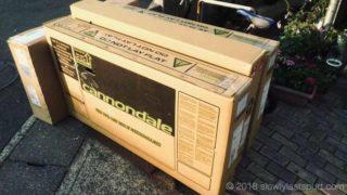 ロードバイクの箱