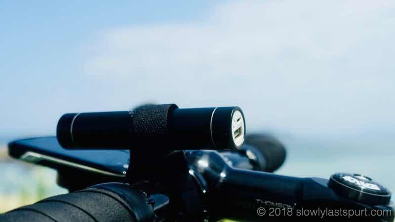サイクリング モバイルバッテリー