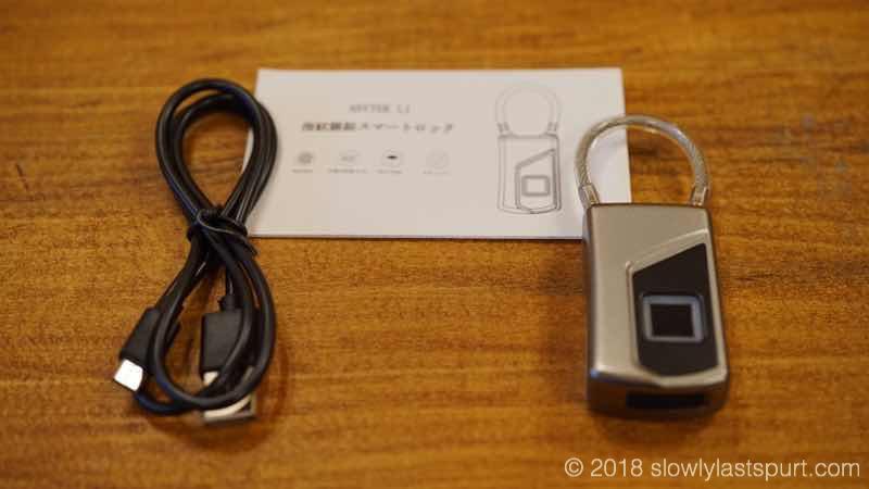 中華製指紋認証南京錠
