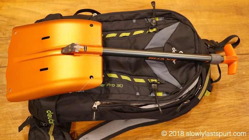 BCA(ビーシーエー)ピッケル+ショベル Shaxe Speed Avalanche Shovel スピードアバランチショベル