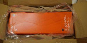 【開封レビュー】FE 200-600mm F5.6-6.3 G OSS防湿庫はギリセーフ?Eマウント望遠レンズとの大きさ比較