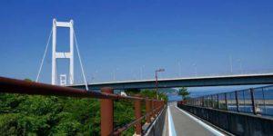 しまなみ海道サイクリングのクライマックス来島海峡大橋!トイレは?危険ポイントは?