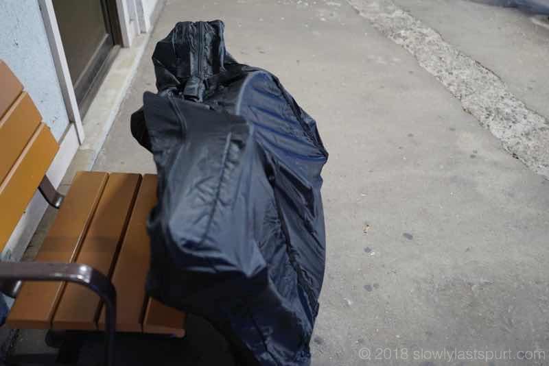 サンワダイレクト 輪行袋 ロードバイク クロスバイク 撥水 前後輪収納 ブラック 800-BYBAG002