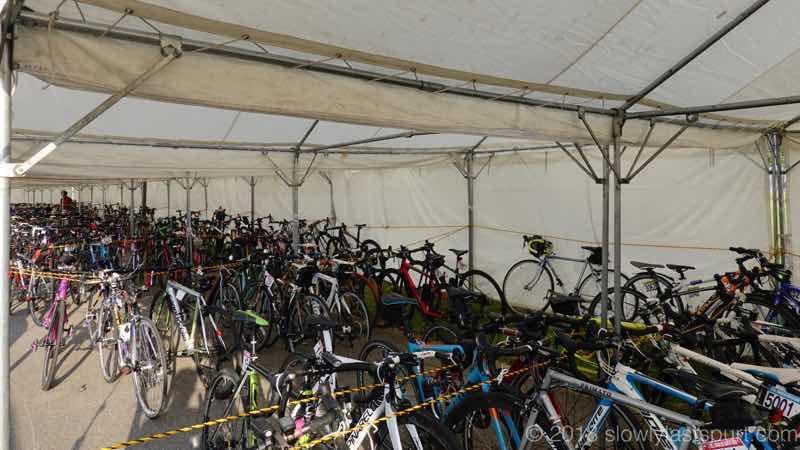 ツールドのと400 自転車の保管状態