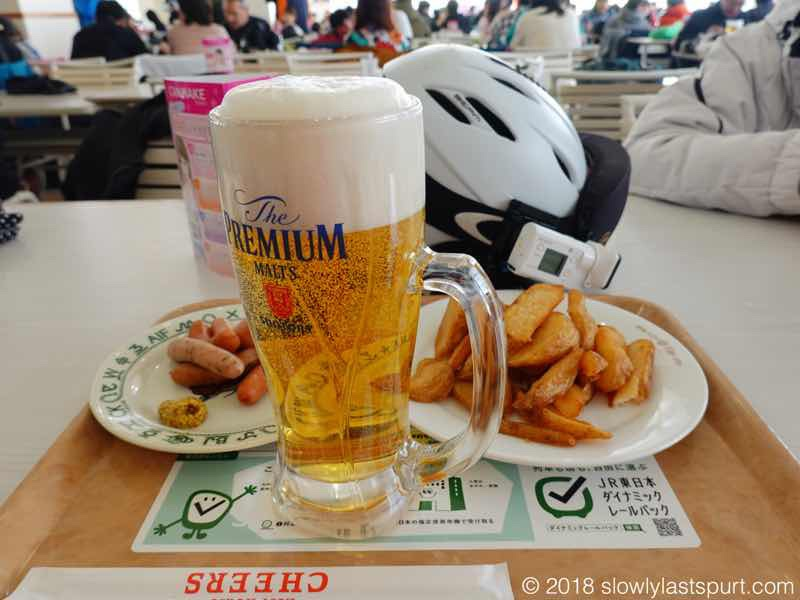 ガーラ湯沢スキー場 ビール