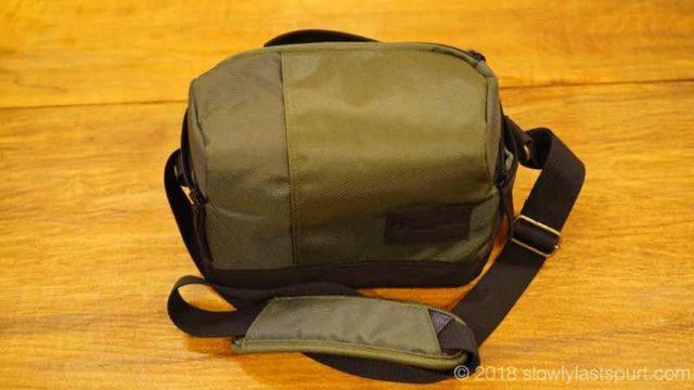 Manfrotto MB MS-SB-GR Lightweight Street Camera Shoulder Bag for CSC, Green