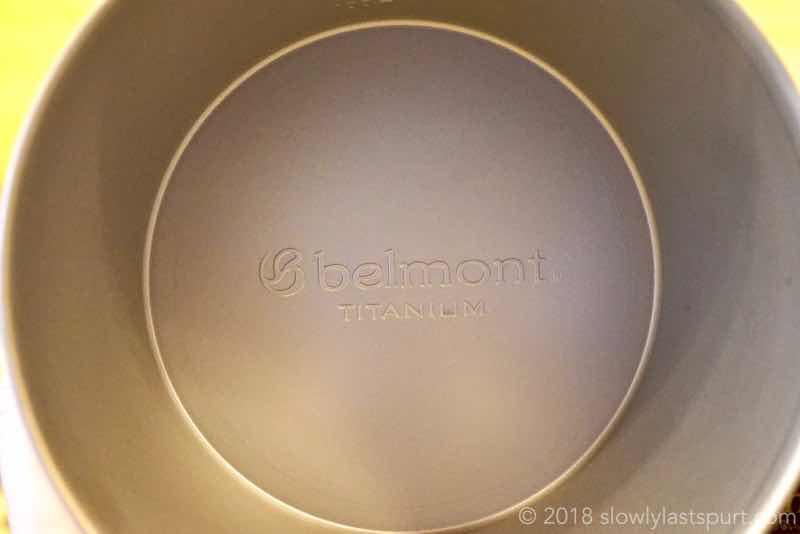 ベルモント(Belmont) BM328チタンシェラカップ深型600FH目盛付
