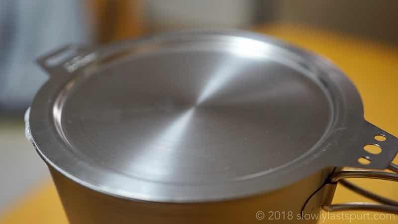 シェラカップ炊飯