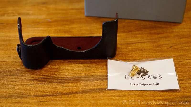 ULYSSES(ユリシーズ)アウトレットのα7RⅡ用ボディスーツ