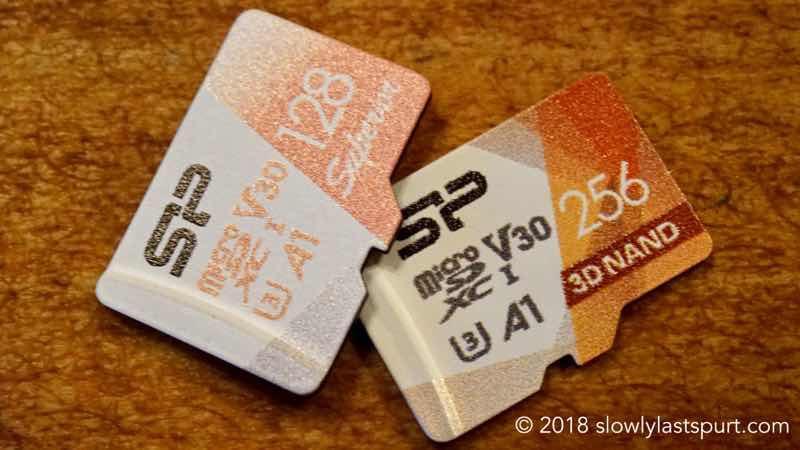 スマホのマイクロSDカード